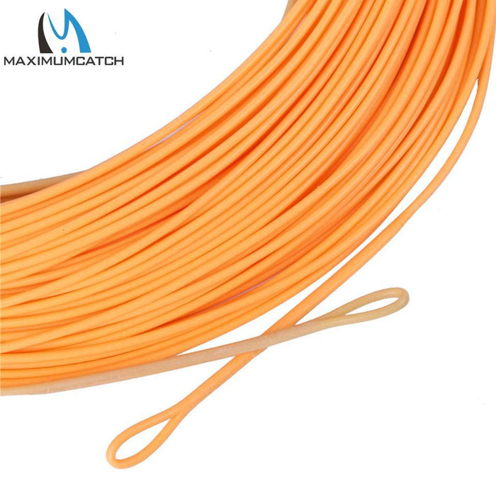 Maximumcatch Connect Core Shooting Line 100Ft Straw/Orange 30Lb Floating-MAXIMUMCATCH Official Store-Bargain Bait Box