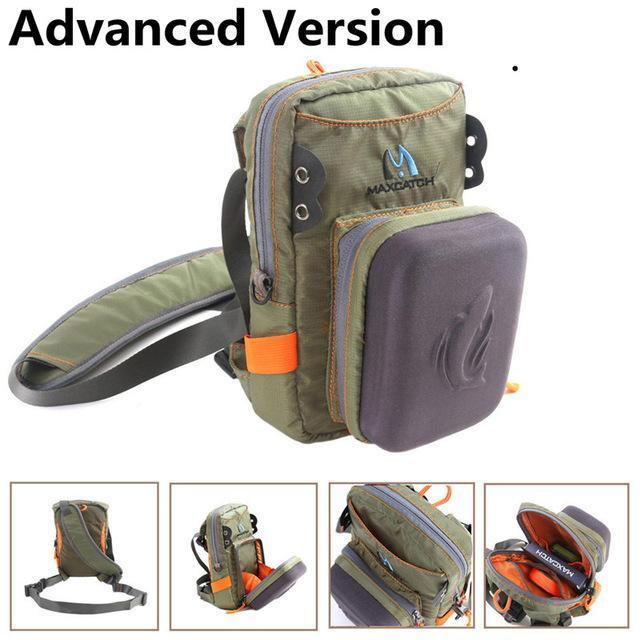Maximumcatch Fly Fishing Bag Fishing Chest Pack Fly Bag With Other Fishing-MaxCatch Outdoor-Advanced Version-Bargain Bait Box
