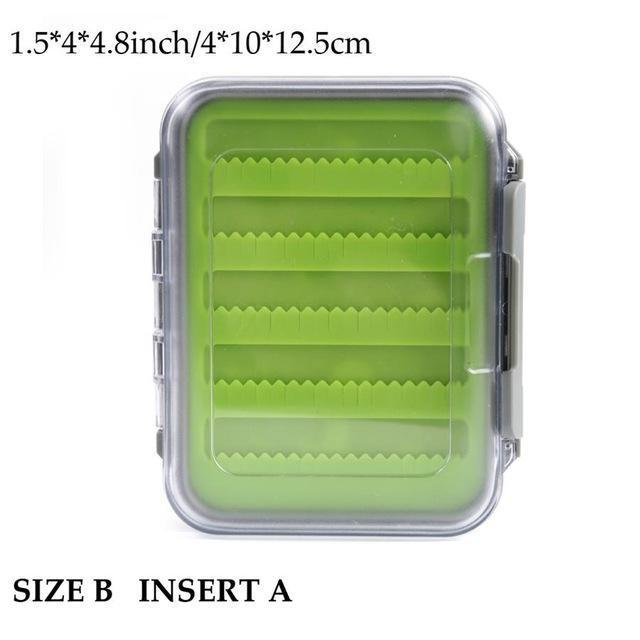 Maximumcatch Fly Fishing Box Easy-Grip Silicone Insert Tackle Boxes Double-MAXIMUMCATCH Official Store-SIZE-B INSERT A-Bargain Bait Box
