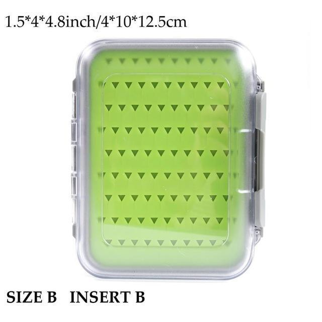 Maximumcatch Fly Fishing Box Easy-Grip Silicone Insert Tackle Boxes Double-MAXIMUMCATCH Official Store-SIZE-B INSERT B-Bargain Bait Box