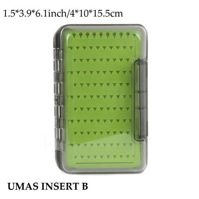 Maximumcatch Fly Fishing Box Easy-Grip Silicone Insert Tackle Boxes Double-MAXIMUMCATCH Official Store-UMAS INSERT B-Bargain Bait Box