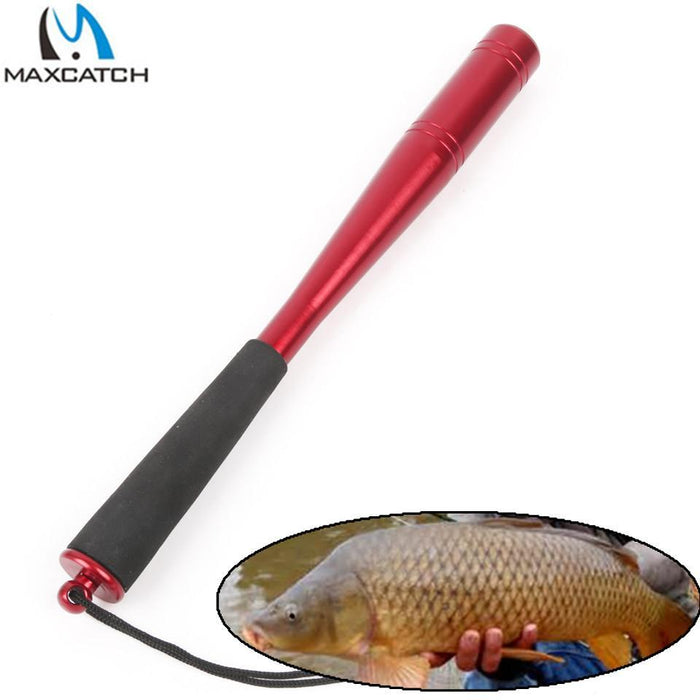 Maximumcatch Modern Shape Aluminum Machine Cut Fishing Priest Fishing Tool-MaxCatch Outdoor-22mm Red Fishing Bat-Bargain Bait Box