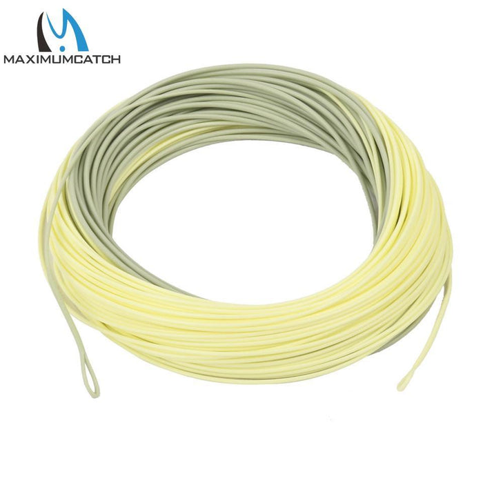 Maximumcatch Outbound Short Fly Fishing Line 8Wt 100Ft Moss/Lvory Color Weight-MAXIMUMCATCH Official Store-8.0-Bargain Bait Box