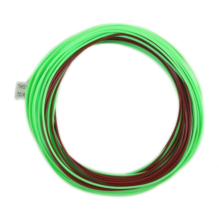 Maximumcatch Sinking Tip 80Ft 4-8Wt Brown/Lemon Green Color With 2 Welded Loop-MaxCatch Outdoor-4.0-Bargain Bait Box