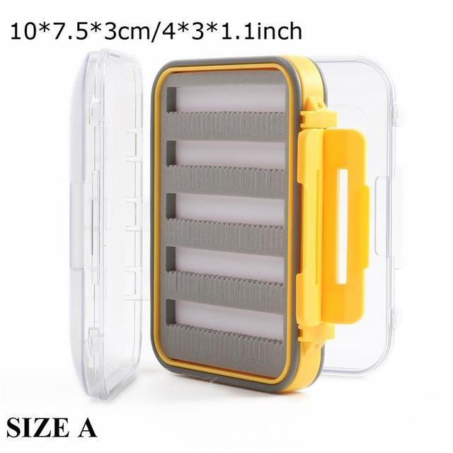 Maximumcatch Waterproof Fly Fishing Box With Slit Foam Fish Lure Hook Bait Fly-MAXIMUMCATCH Official Store-SIZE A10-Bargain Bait Box