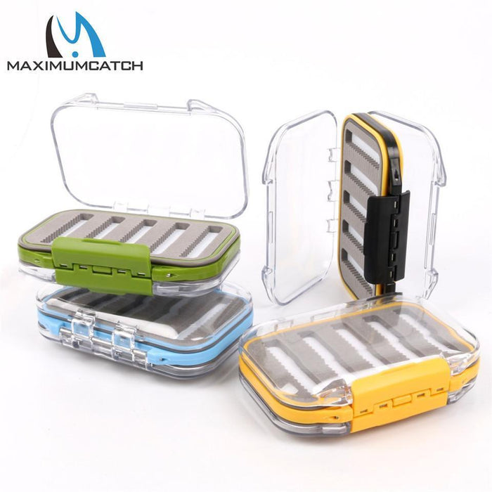 Maximumcatch Waterproof Fly Fishing Box With Slit Foam Fish Lure Hook Bait Fly-MAXIMUMCATCH Official Store-SIZE B-Bargain Bait Box