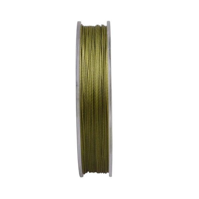 Mega 9 Strands 300M Braided Wire Fishing Line Japan Material Super Pe Line-AGEPOCH Fishing Tackle Co., Ltd.-Army Green-0.8-Bargain Bait Box
