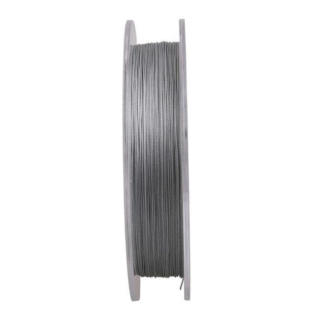 Mega 9 Strands 300M Braided Wire Fishing Line Japan Material Super Pe Line-AGEPOCH Fishing Tackle Co., Ltd.-Light Grey-0.8-Bargain Bait Box
