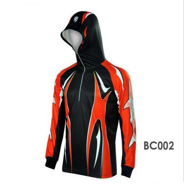 Men Climbing Anti Uv Breathable Quick-Drying Clothes Fishing Homme Hooded-Hoodies-Bargain Bait Box-BC002-S-Bargain Bait Box