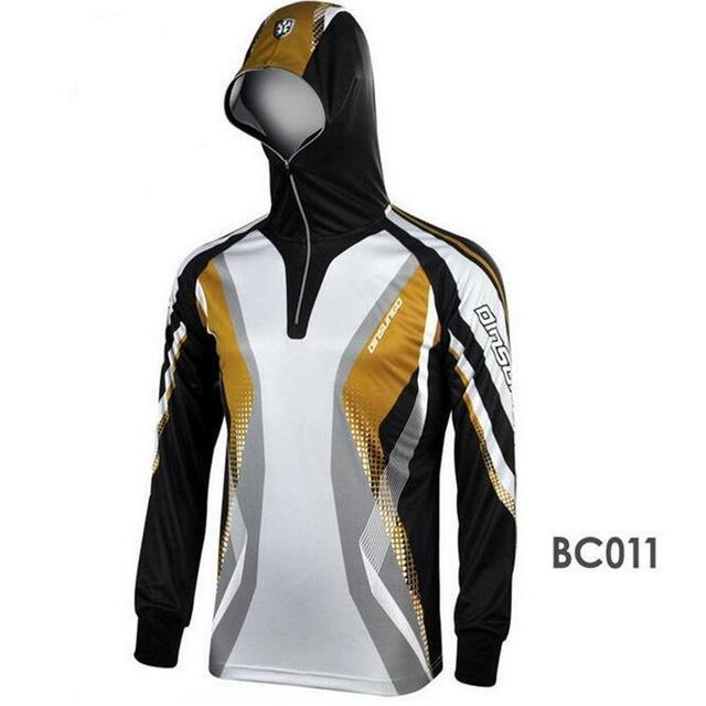 Men Climbing Anti Uv Breathable Quick-Drying Clothes Fishing Homme Hooded-Hoodies-Bargain Bait Box-BC011-S-Bargain Bait Box