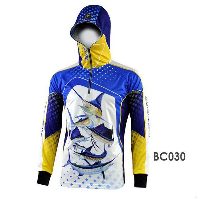 Men Climbing Anti Uv Breathable Quick-Drying Clothes Fishing Homme Hooded-Hoodies-Bargain Bait Box-BC030-S-Bargain Bait Box