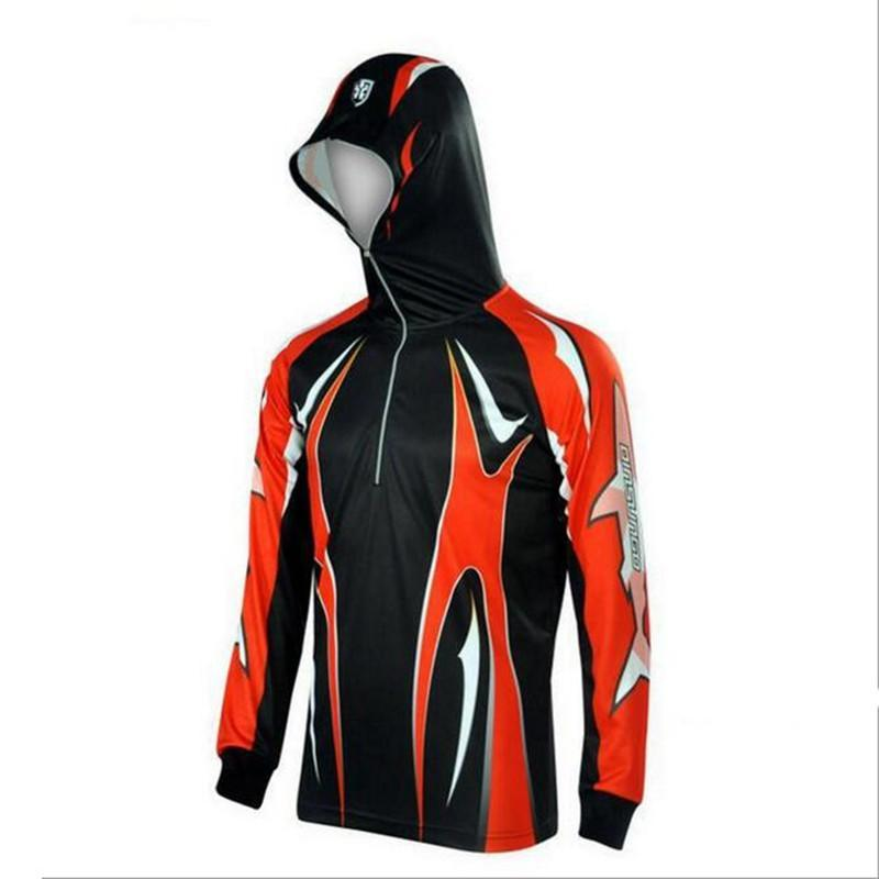 Men Climbing Anti Uv Cool Breathable Quick-Drying Clothes Fishing Homme Hooded-Hoodies-Bargain Bait Box-BC002-S-Bargain Bait Box