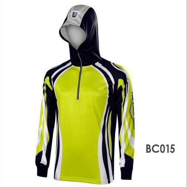 Men Climbing Anti Uv Cool Breathable Quick-Drying Clothes Fishing Homme Hooded-Hoodies-Bargain Bait Box-BC015-S-Bargain Bait Box