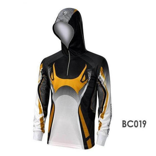 Men Climbing Anti Uv Cool Breathable Quick-Drying Clothes Fishing Homme Hooded-Hoodies-Bargain Bait Box-BC019-S-Bargain Bait Box