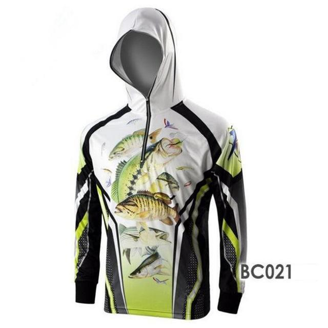 Men Climbing Anti Uv Cool Breathable Quick-Drying Clothes Fishing Homme Hooded-Hoodies-Bargain Bait Box-BC021-S-Bargain Bait Box