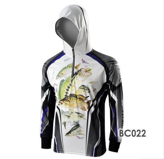 Men Climbing Anti Uv Cool Breathable Quick-Drying Clothes Fishing Homme Hooded-Hoodies-Bargain Bait Box-BC022-S-Bargain Bait Box