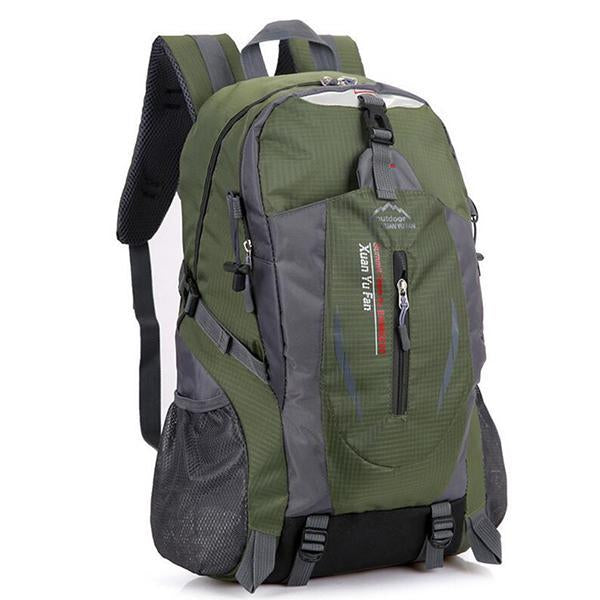 Men Nylon Travel Backpack Large Capacity Camping Casual Backpack 15 Inch-Backpacks-TakeCharm Official Store-Army Green-China-Bargain Bait Box