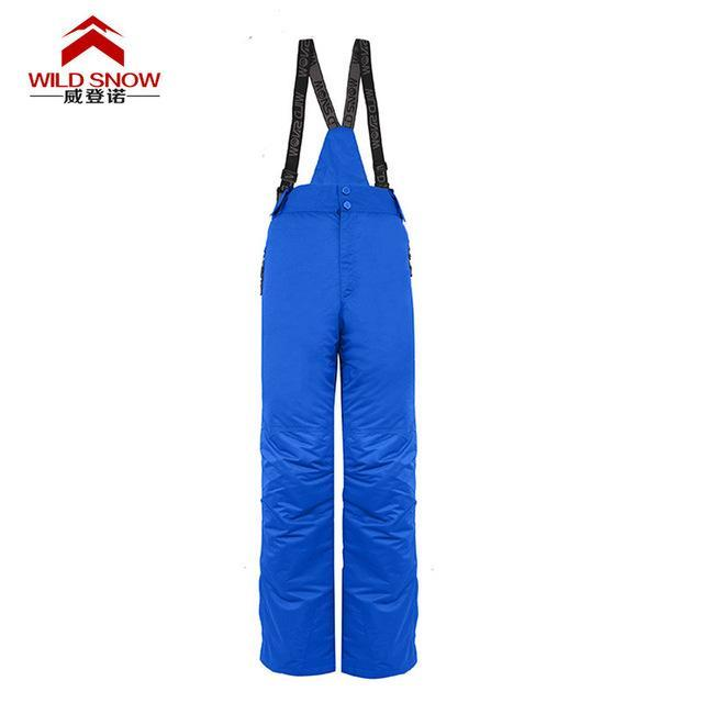 Men Skiing Pants S Warm Snowboard Trouser Male Waterproof Snow Trousers-Snow Pants-Bargain Bait Box-blue-XL-Bargain Bait Box