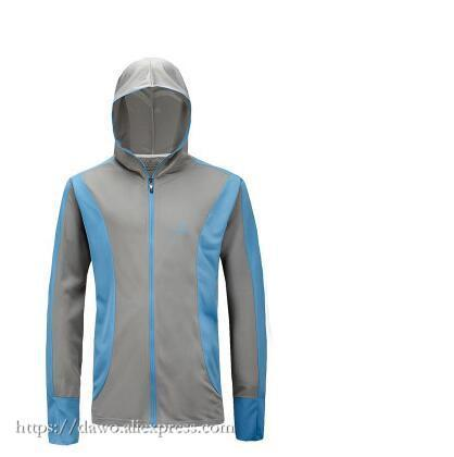 Men Sport Zipper Cardigan Fishing Anti-Mosquito Quick-Drying Breathable Anti-Hoodies-Bargain Bait Box-M-Ice silk Fabric 05-Bargain Bait Box