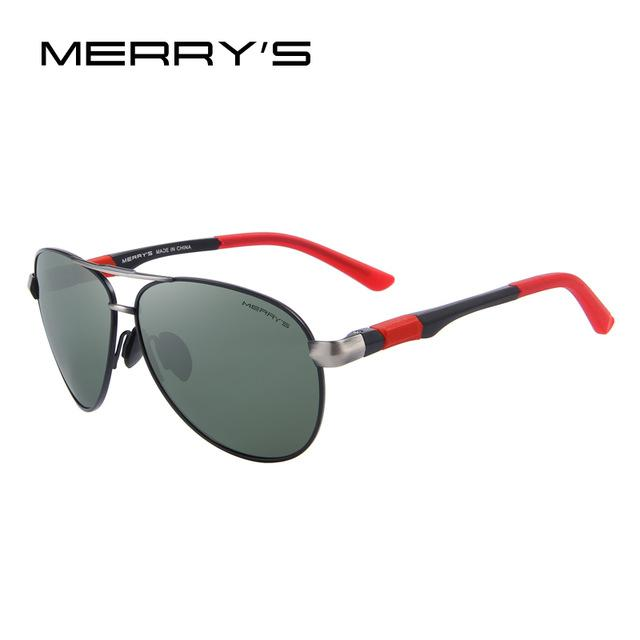 Men Sunglasses Hd Polarized Glasses Men Polarized Sunglasses With Al Case-Polarized Sunglasses-Bargain Bait Box-C03 Black G15-Bargain Bait Box