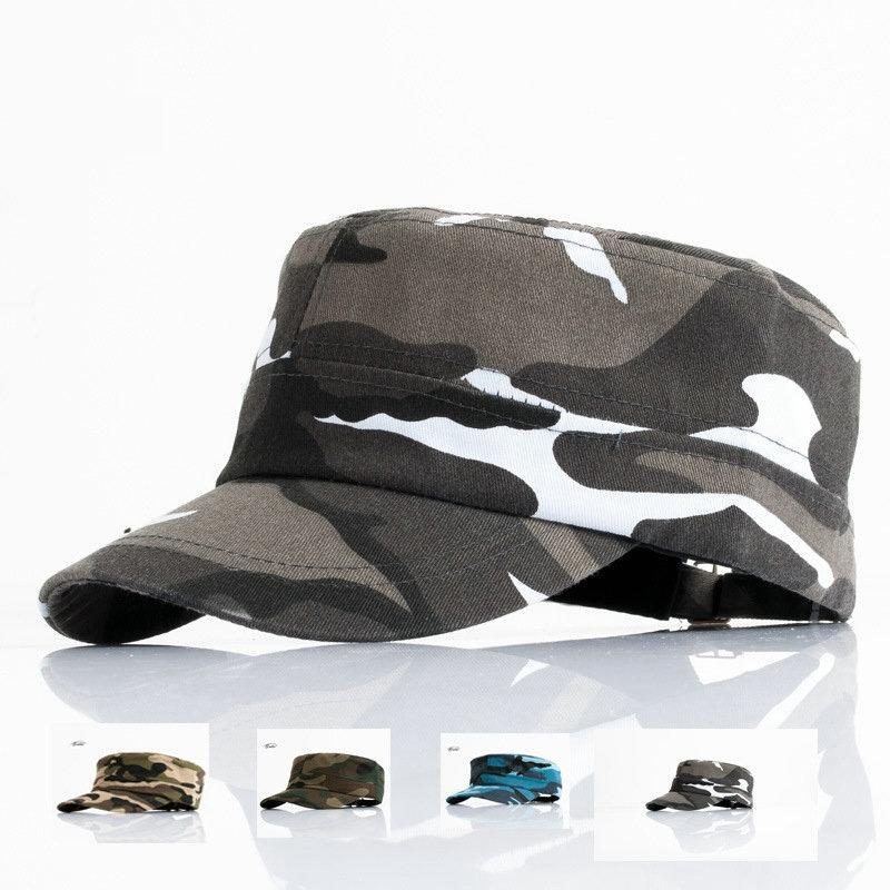 Men Tractical Flat Cap Unisex Camo Printed Hats Adjustable Patrol Casquette Flat-Hats-Bargain Bait Box-YY10401-Bargain Bait Box