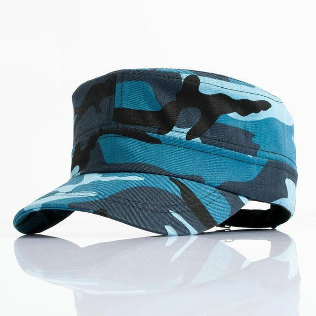 Men Tractical Flat Cap Unisex Camo Printed Hats Adjustable Patrol Casquette Flat-Hats-Bargain Bait Box-YY10404-Bargain Bait Box