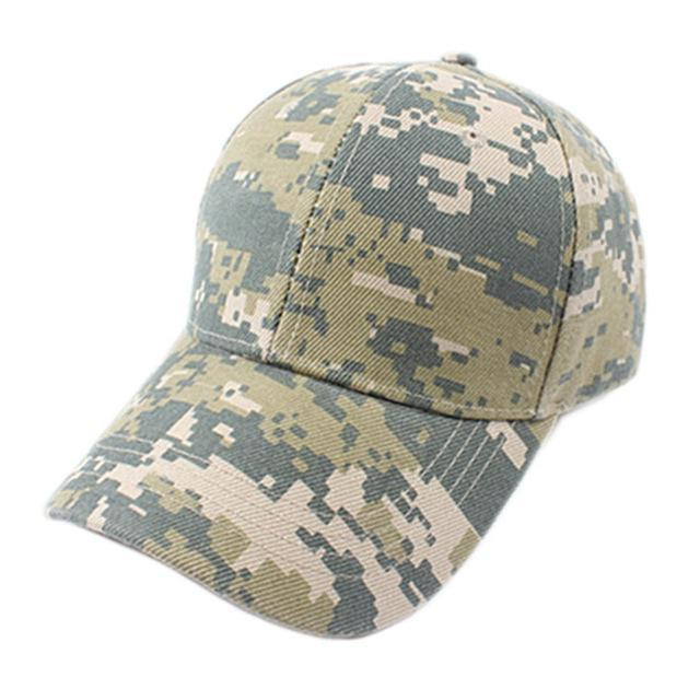 Men Women Adjustable Military Hunting Fishing Hat Baseball Head Cover Wearing-Hats-Bargain Bait Box-Camo Tape 1-M-Bargain Bait Box