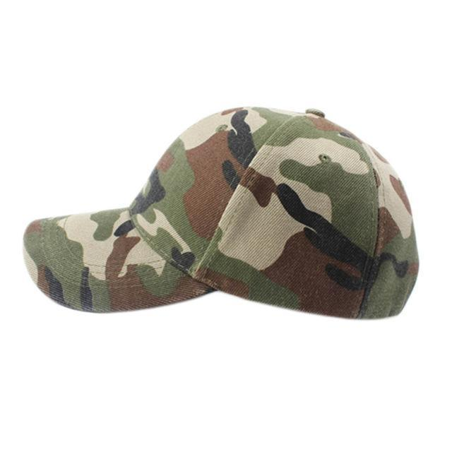 Men Women Adjustable Military Hunting Fishing Hat Baseball Head Cover Wearing-Hats-Bargain Bait Box-Camo Tape 2-M-Bargain Bait Box