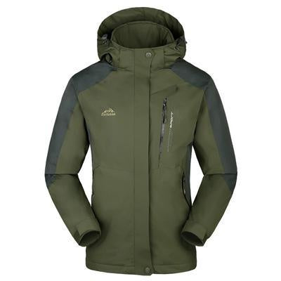 Men Women Jacket Camping Windbreaker Coat Men Women Waterproof Windproof Sport-Jackets-Bargain Bait Box-men army green-XL-Bargain Bait Box