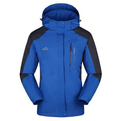 Men Women Jacket Camping Windbreaker Coat Men Women Waterproof Windproof Sport-Jackets-Bargain Bait Box-men blue-XL-Bargain Bait Box