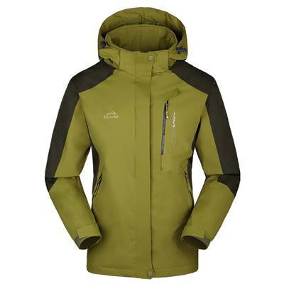 Men Women Jacket Camping Windbreaker Coat Men Women Waterproof Windproof Sport-Jackets-Bargain Bait Box-men yellowgreen-XL-Bargain Bait Box