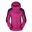 Men Women Jacket Camping Windbreaker Coat Men Women Waterproof Windproof Sport-Jackets-Bargain Bait Box-women dark rosered-XL-Bargain Bait Box