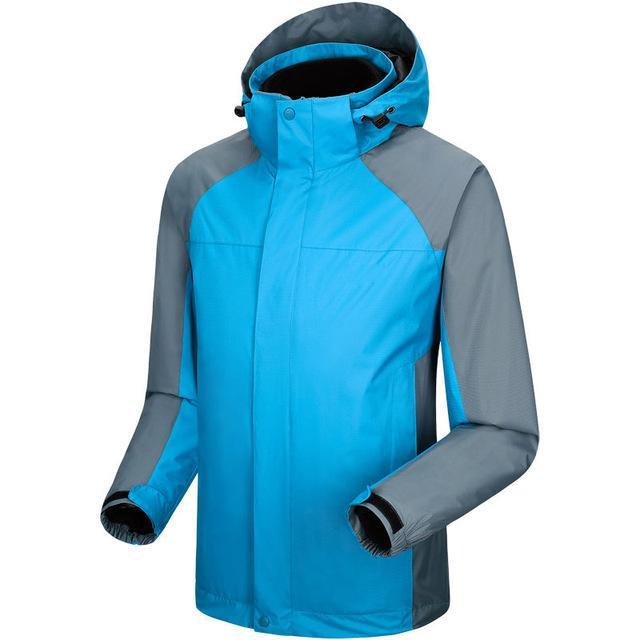 Men Women Jackets Windbreaker Camping Coats Jaqueta For Men Fall Fishing Sport-Jackets-Bargain Bait Box-Men Light Lake Blue-S-Bargain Bait Box