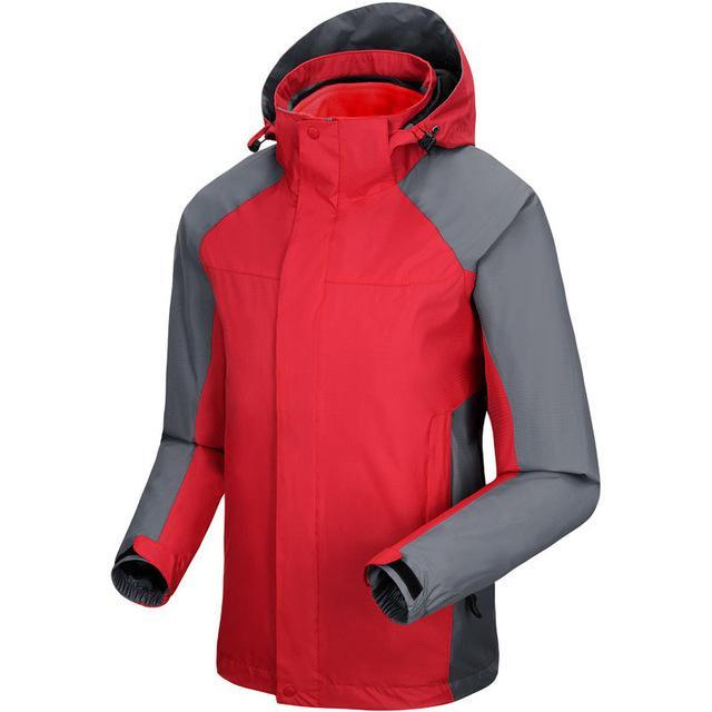 Men Women Jackets Windbreaker Camping Coats Jaqueta For Men Fall Fishing Sport-Jackets-Bargain Bait Box-Women Chinese Red-S-Bargain Bait Box
