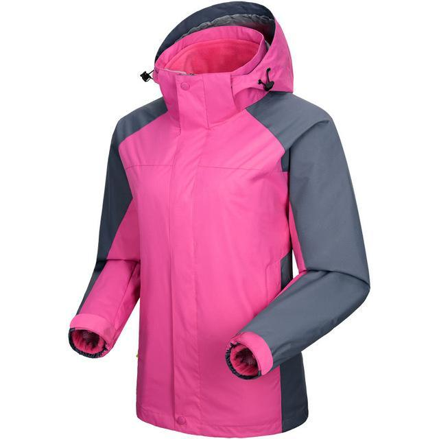 Men Women Jackets Windbreaker Camping Coats Jaqueta For Men Fall Fishing Sport-Jackets-Bargain Bait Box-Women Peach Pink-S-Bargain Bait Box