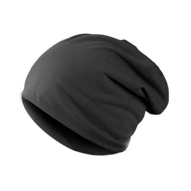 Men'S Beanies Hat Cap Men Casual Sports Cotton Turtleneck Male Wind Hats For Men-Beanies-Bargain Bait Box-DGY-Bargain Bait Box