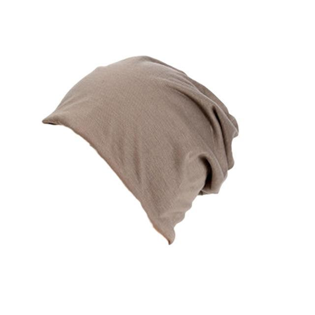 Men'S Beanies Hat Cap Men Casual Sports Cotton Turtleneck Male Wind Hats For Men-Beanies-Bargain Bait Box-KK-Bargain Bait Box