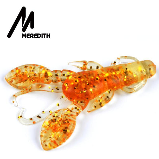 Meredith 10Pc/Lot Craws Soft Fishing 60Mm/5G Silicone Creature Soft Bait-Craws-Bargain Bait Box-A-Bargain Bait Box