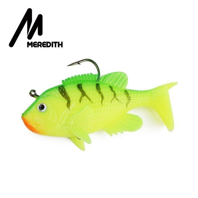 "Meredith 3.15"" Sunfish 3Pcs 21.6G 8Cm Lead Head Fishing Lure Artificial Soft-Fishing Lures-MEREDITH Official Store-B-Bargain Bait Box"