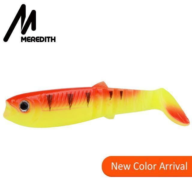 Meredith 5Pcs 10.5G 10Cm Lures Fishing Lures Soft Fishing Baits Cannibal Soft-MEREDITH Official Store-K-Bargain Bait Box
