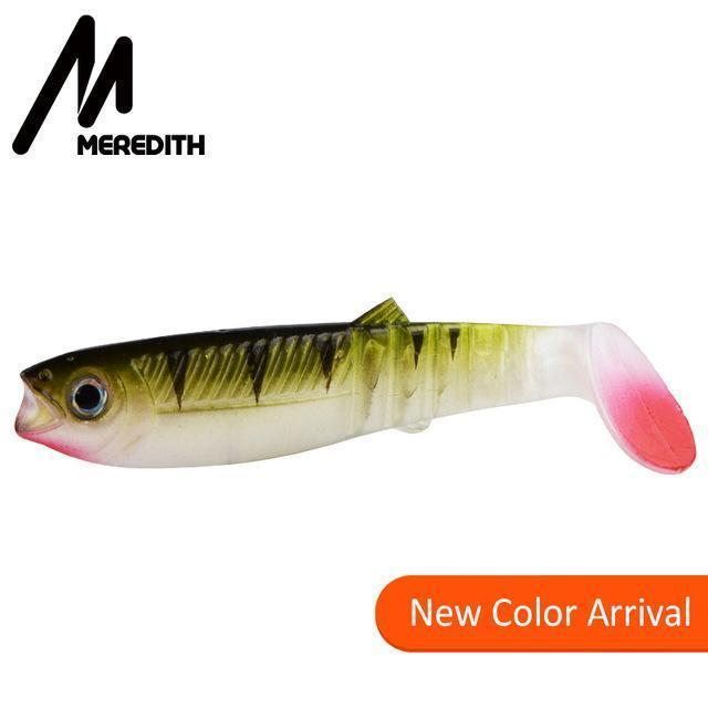 Meredith 5Pcs 10.5G 10Cm Lures Fishing Lures Soft Fishing Baits Cannibal Soft-MEREDITH Official Store-L-Bargain Bait Box