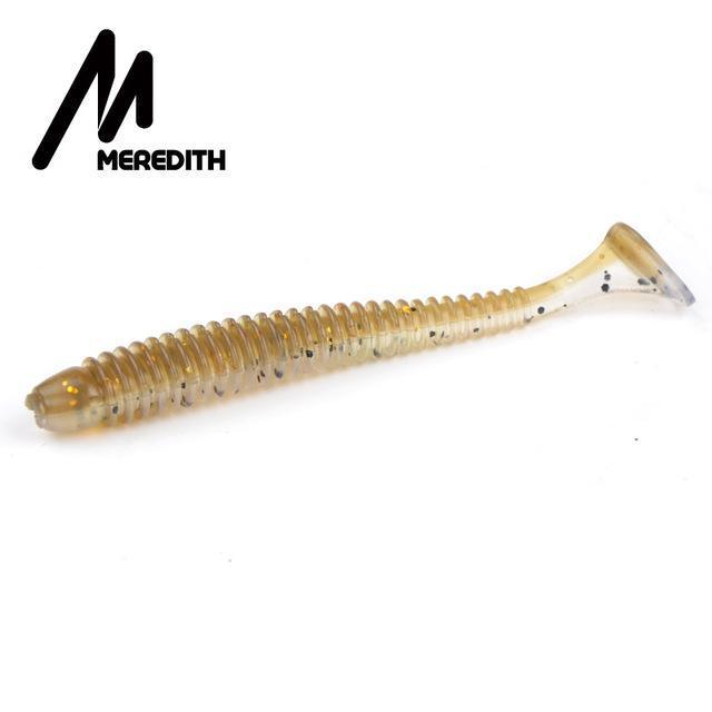 Meredith 65Mm/1.35G 20Pcs/Lot Swimbait Craws Swing Impact Fishing Lures Soft-MEREDITH Official Store-F-Bargain Bait Box