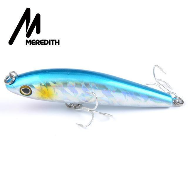 Meredith Hot Model Retail Fishing Lures,Hard Bait Assorted Colors, Popper 90Mm-MEREDITH Official Store-A-Bargain Bait Box