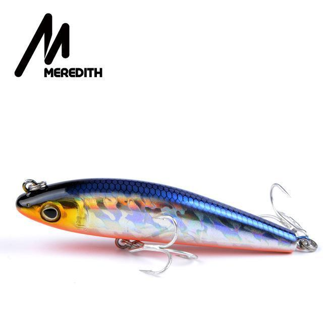 Meredith Hot Model Retail Fishing Lures,Hard Bait Assorted Colors, Popper 90Mm-MEREDITH Official Store-C-Bargain Bait Box