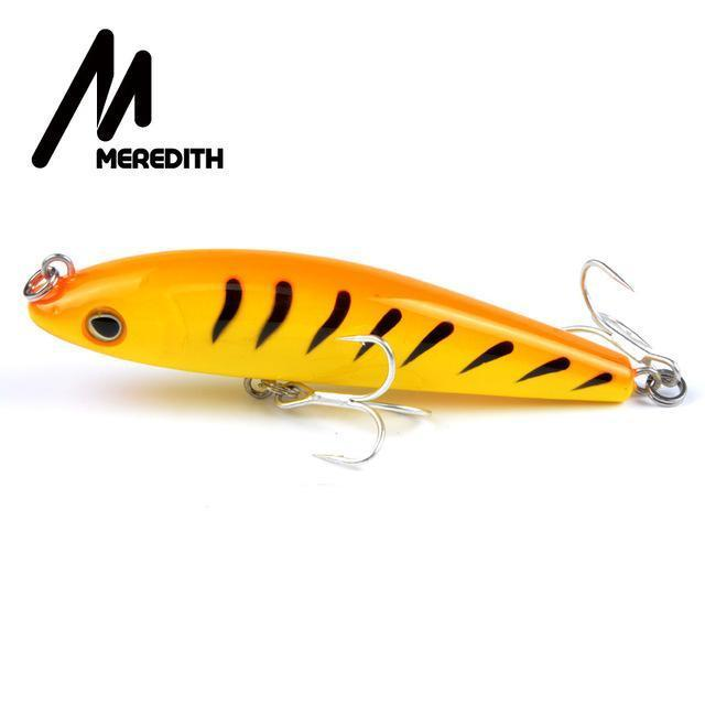 Meredith Hot Model Retail Fishing Lures,Hard Bait Assorted Colors, Popper 90Mm-MEREDITH Official Store-D-Bargain Bait Box