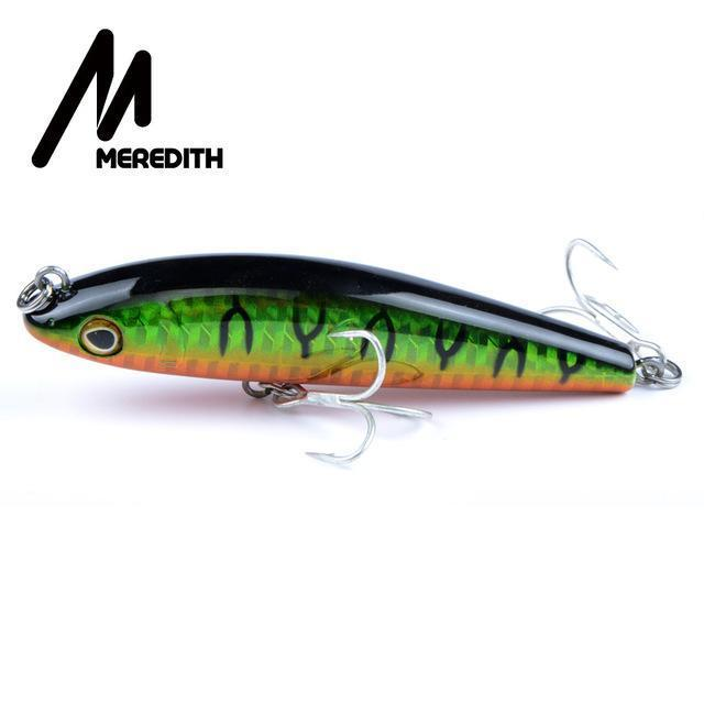 Meredith Hot Model Retail Fishing Lures,Hard Bait Assorted Colors, Popper 90Mm-MEREDITH Official Store-G-Bargain Bait Box