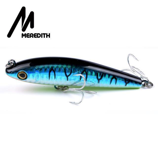 Meredith Hot Model Retail Fishing Lures,Hard Bait Assorted Colors, Popper 90Mm-MEREDITH Official Store-I-Bargain Bait Box