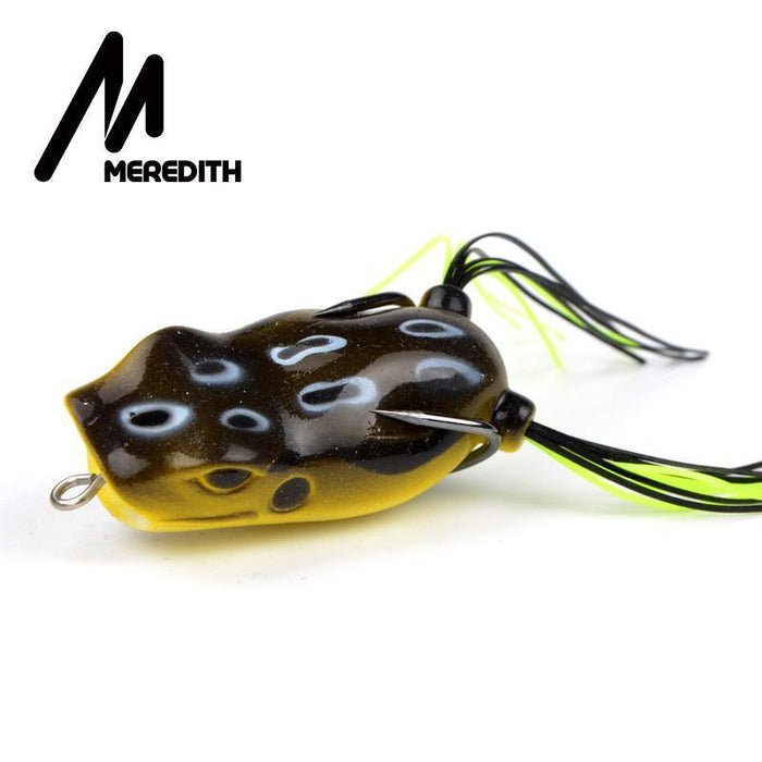Meredith Popper Frog 11.7G 5.3Cm 5Pcs Frog Lures Soft Baits For Snakehead Bass-MEREDITH Official Store-Bargain Bait Box