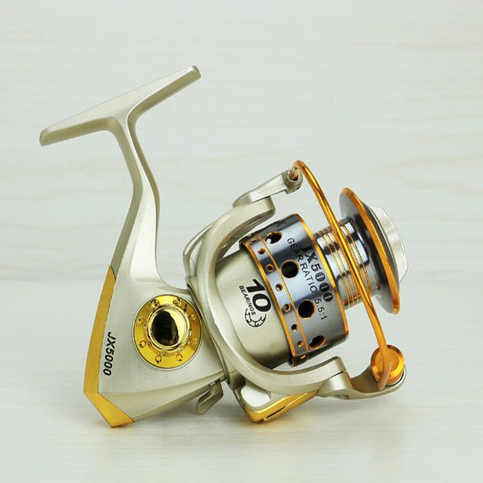 Metal Spinning Fishing Reel 12Bb 5.5:1 Fishing Tackle Spinnning Reel Left /-Spinning Reels-Sports fishing products-1000 Series-Bargain Bait Box