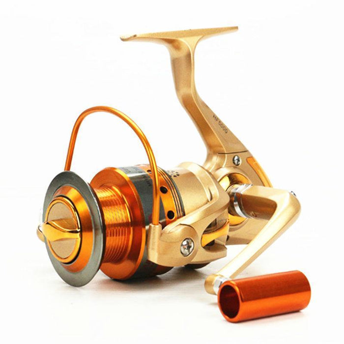 Metal Spinning Fishing Reel 12Bb Fishing Tackle Pesca Carrete Spinning Reel-Spinning Reels-Lepan outdoor boutiques Store-1000 Series-Bargain Bait Box